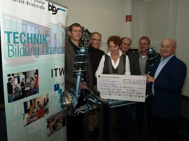 Kollekte BBS Brinkstraße geht an die Stiftung Oase